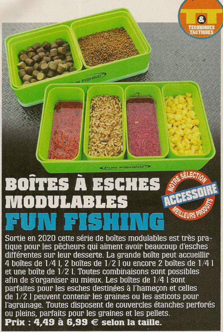 boites fun fishing